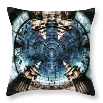 Unknown Gates Throw Pillow