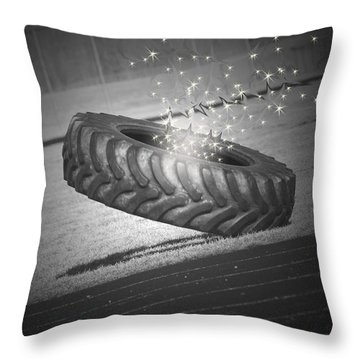 Unknown Portals Throw Pillow