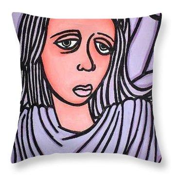 Unknown Throw Pillow by Thomas Valentine