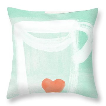 Unlimited Refills- Art By Linda Woods Throw Pillow