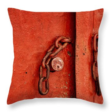 Unlocked Throw Pillow