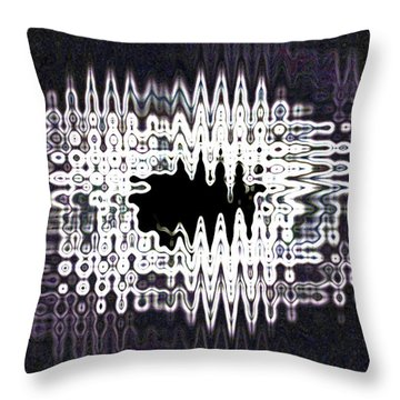 Unnamed Abstract Throw Pillow