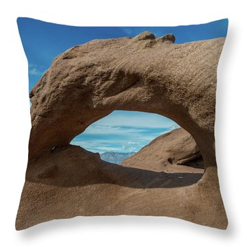 Unnamed Arch Throw Pillow