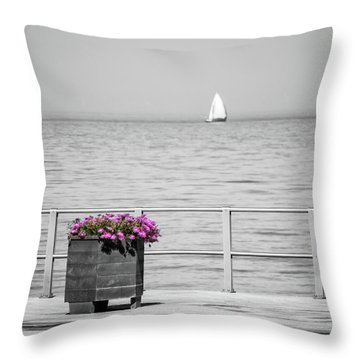 Unnoticed Throw Pillow