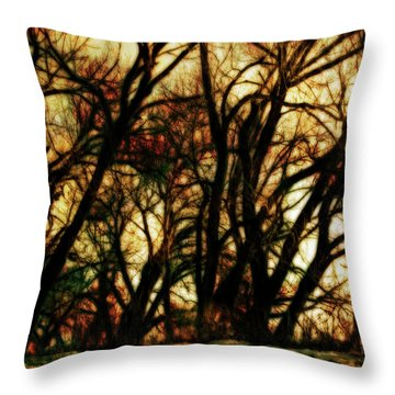 Unquenched Thirst Throw Pillow