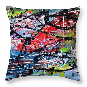 Unseen 2 Of 2 Throw Pillow