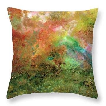 Unseen Virtue Throw Pillow