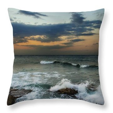 Unsettled Throw Pillow