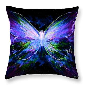 Unspoken Beauty  Throw Pillow