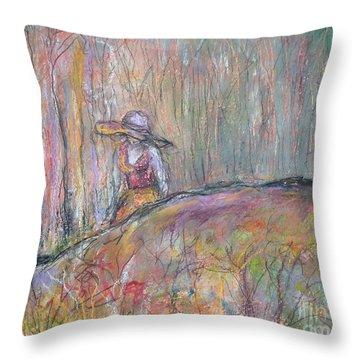 Unspoken Throw Pillow