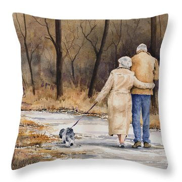 Unspoken Love Throw Pillow