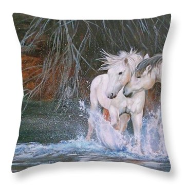 Unspoken Persuasion Throw Pillow