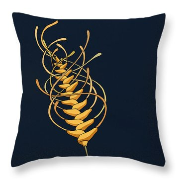 unTANGLEwhEAT II Throw Pillow