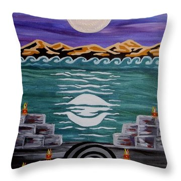 Unthought Known Throw Pillow
