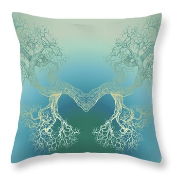 Until It Makes You See Tree9 Throw Pillow