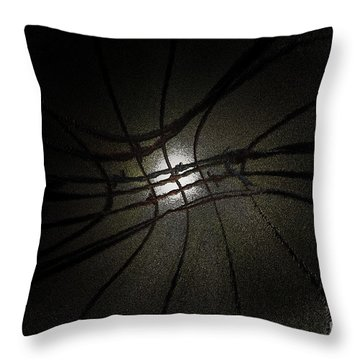 Until Morning Throw Pillow by Kim Henderson