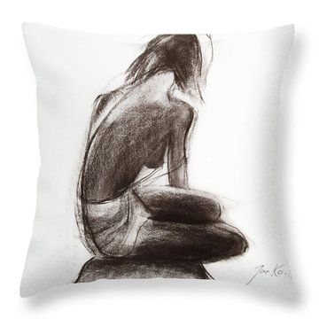 Until The Sea Shall Free Them Throw Pillow by Jarko Aka Lui Grande