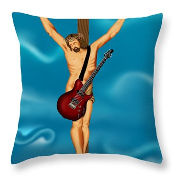 Until There Was Rock You Only Had God Throw Pillow
