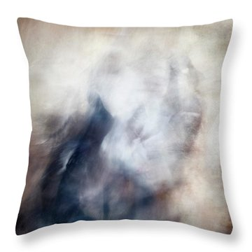 Untitled #0243, From The Soul Searching Series Throw Pillow