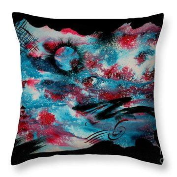 Untitled-100 Throw Pillow