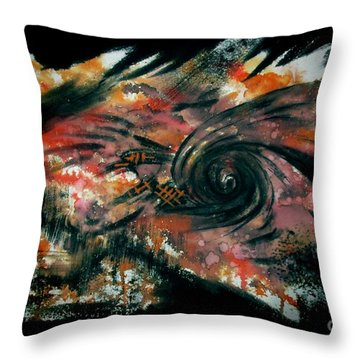 Untitled-101 Throw Pillow