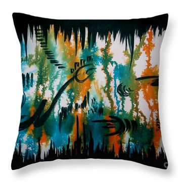 Untitled-103 Throw Pillow
