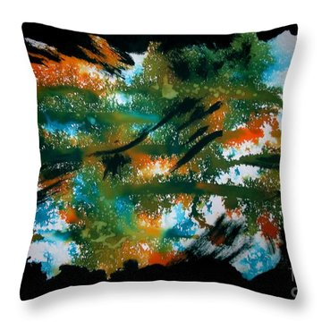 Untitled-106 Throw Pillow