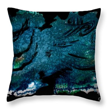 Untitled-108 Throw Pillow