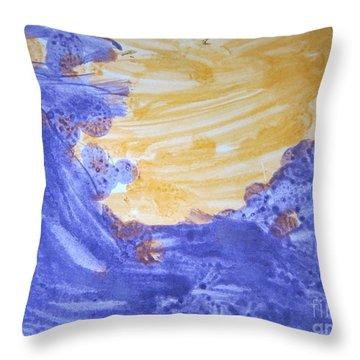 Untitled 120 Original Painting Throw Pillow