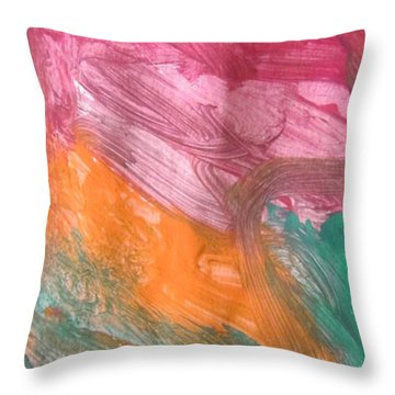 Untitled 122 Original Painting Throw Pillow