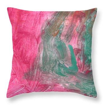 Untitled 123 Original Painting Throw Pillow
