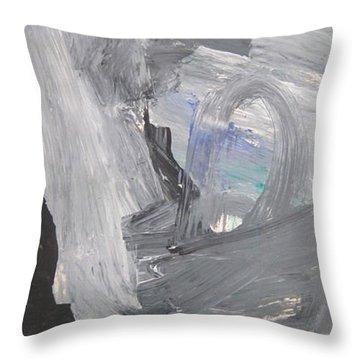 Untitled 124 Original Painting Throw Pillow