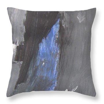 Untitled 125 Original Painting Throw Pillow