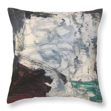 Untitled 127 Original Painting Throw Pillow