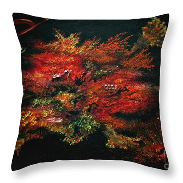 Untitled-134 Throw Pillow