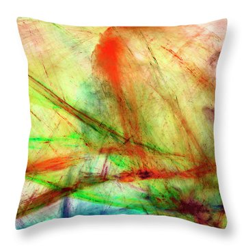 Untitled #140922, From The Soul Searching Series Throw Pillow