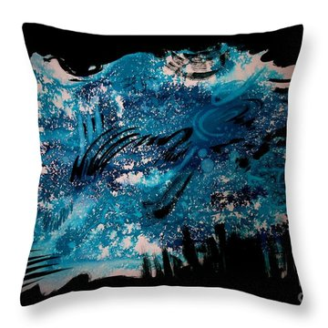 Untitled-141 Throw Pillow