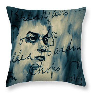 Untitled - 15aug2017 Throw Pillow