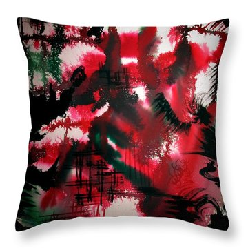 Untitled-174 Throw Pillow