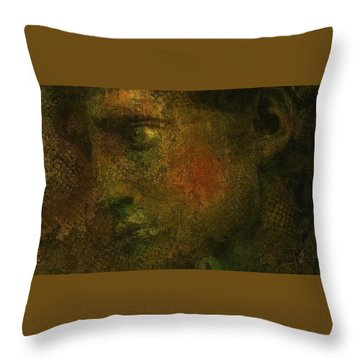 Throw Pillow featuring the digital art Untitled 18june2015 by Jim Vance