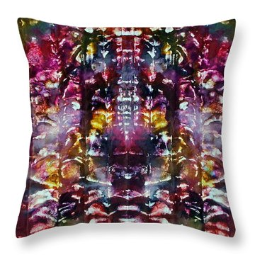 2-offspring While I Was  On The Path To Perfection 2 Throw Pillow