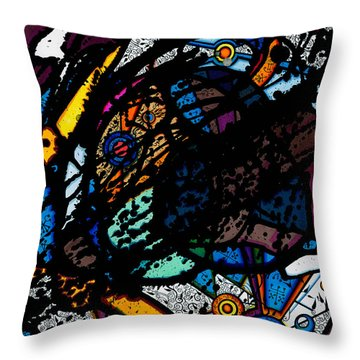 Untitled 2015 Throw Pillow