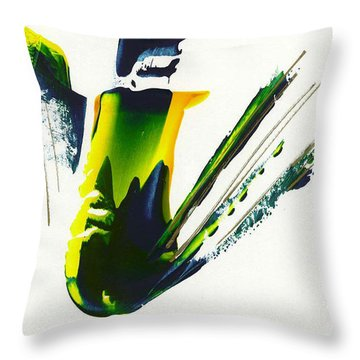Untitled -23 Throw Pillow
