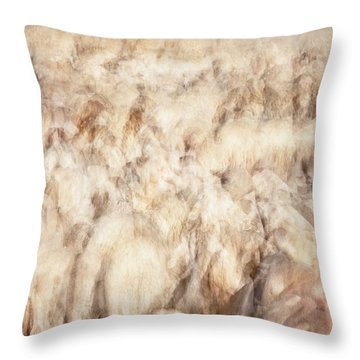 Untitled #3939, From The Soul Searching Series Throw Pillow
