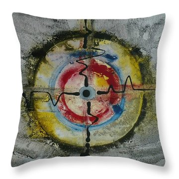 Four Directions Energy Throw Pillow