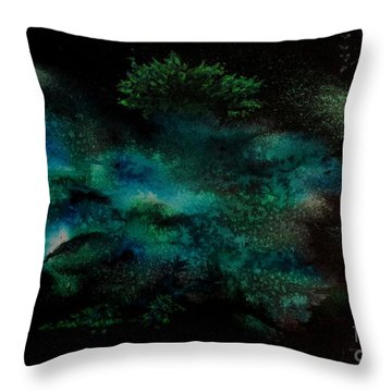 Untitled-50 Throw Pillow