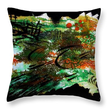 Untitled-54 Throw Pillow