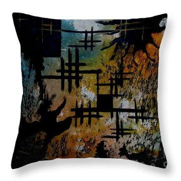 Cross Line Throw Pillow