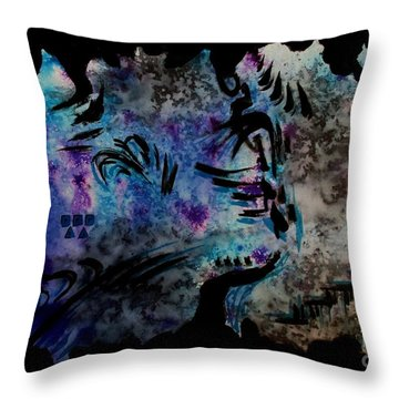 Untitled-62 Throw Pillow