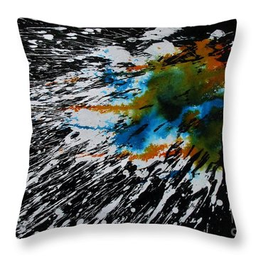 Untitled-73 Throw Pillow